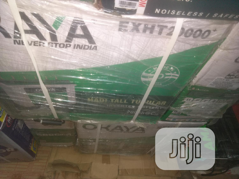 200ah/12v Okaya Tubular Battery   Solar Energy for sale in Ojo, Lagos State, Nigeria