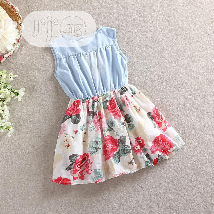 Archive: Girls Floral Print Dress