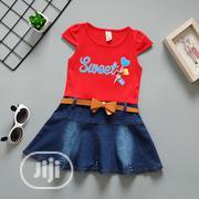 Girls Short Sleeve Dress | Children's Clothing for sale in Lagos State, Agboyi/Ketu