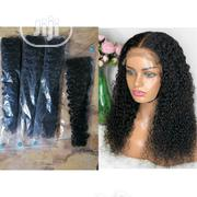 20 Inches Brazilian Curl With Closure | Hair Beauty for sale in Lagos State, Kosofe