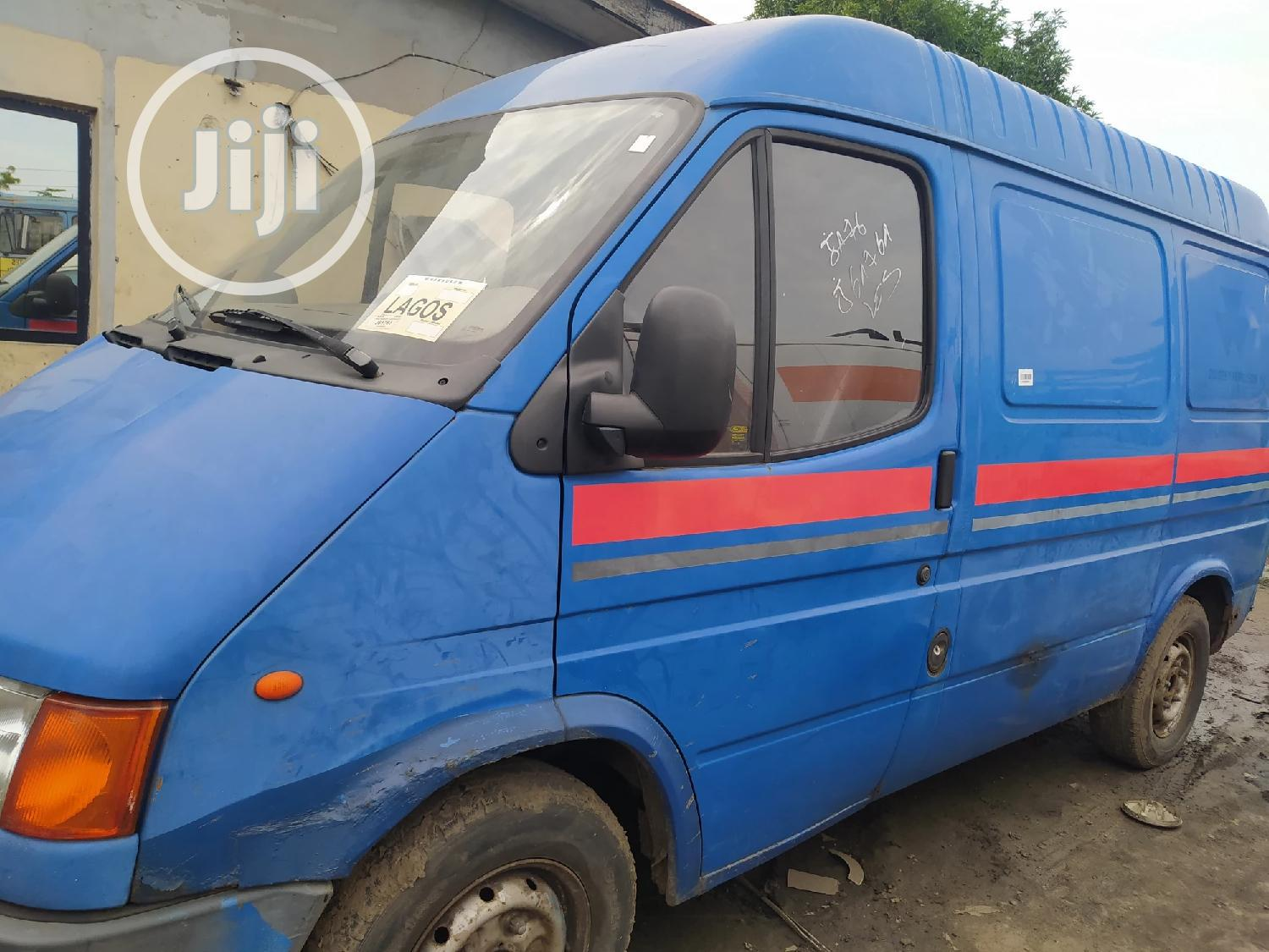 Tokunbo Ford Transit Bus With Container Body And Diesel Engine.