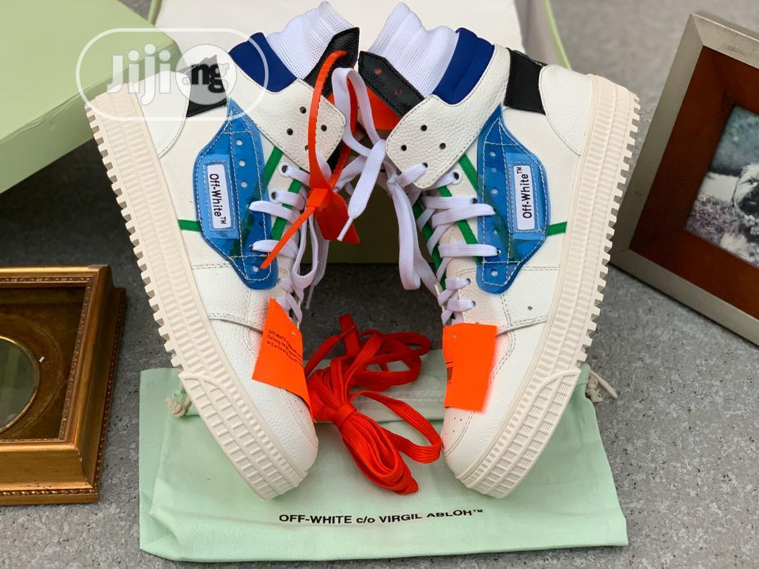 Off White Sneakers | Shoes for sale in Surulere, Lagos State, Nigeria