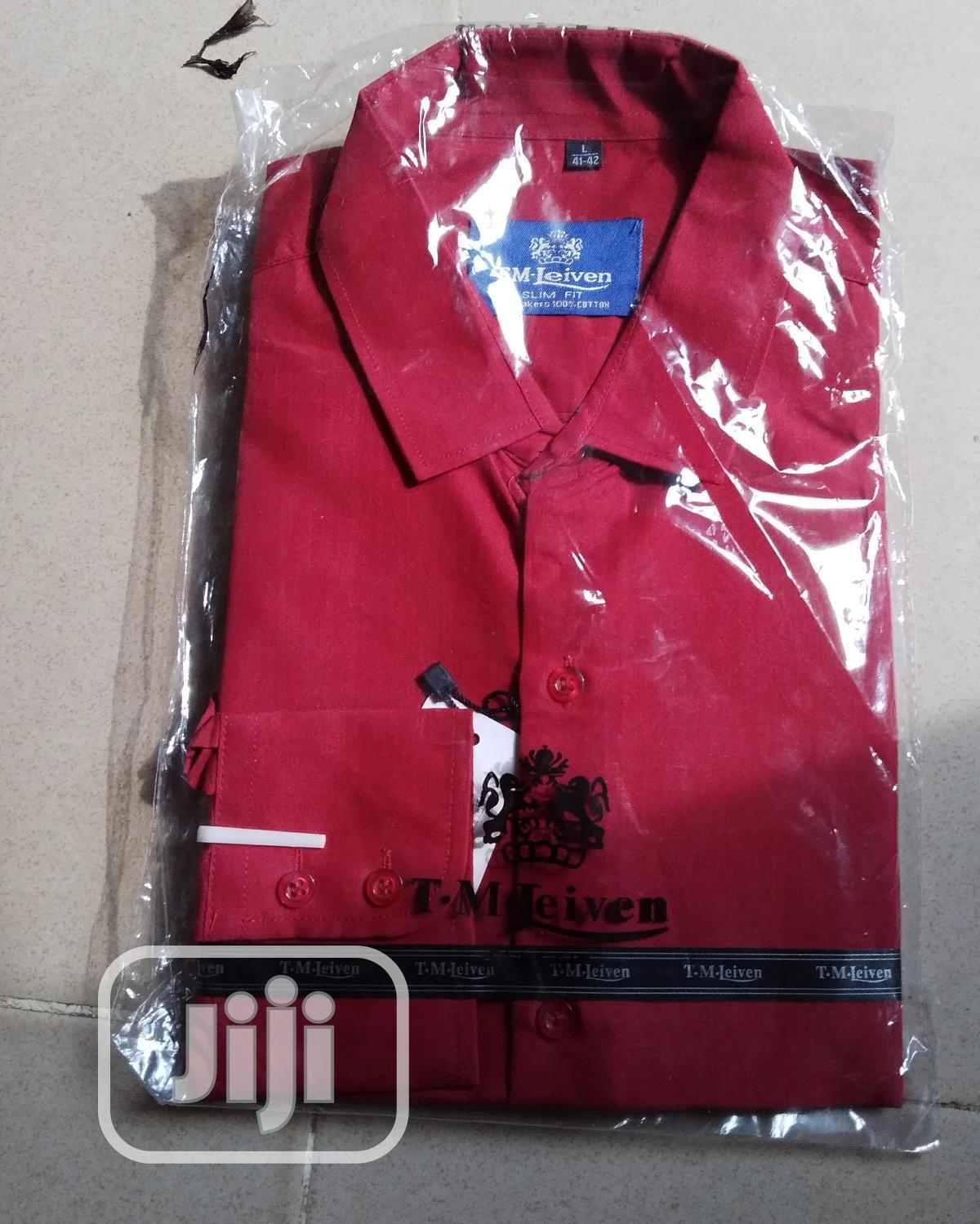 T.M Leiven Slim Fit Shirt