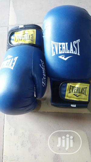 Everlast Pro Boxing Gloves | Sports Equipment for sale in Rivers State, Port-Harcourt