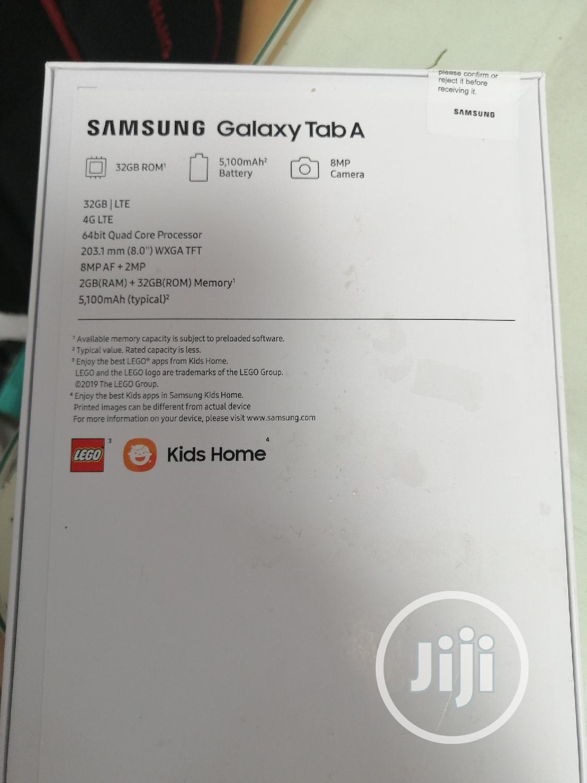 New Samsung Galaxy Tab A 8.0 32 GB Gray | Tablets for sale in Ikeja, Lagos State, Nigeria