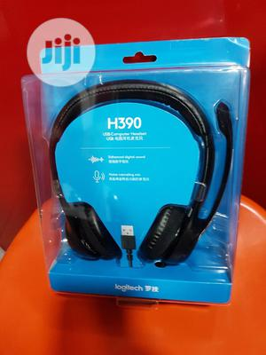 Logitech H390 Headset With Mic | Headphones for sale in Lagos State, Ikeja