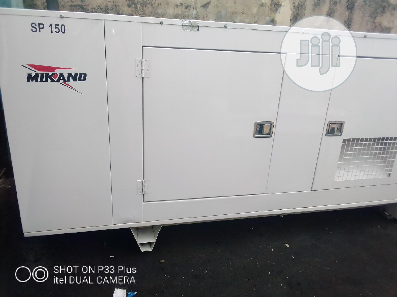 150kva Mikano Generator
