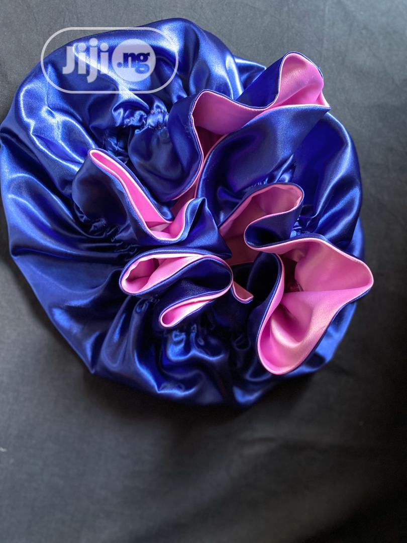 Archive: Cute Reversible Satin Hair Bonnet