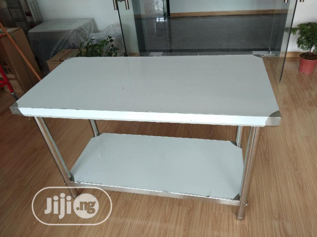 Stainless Steel Work Table 4 Fit