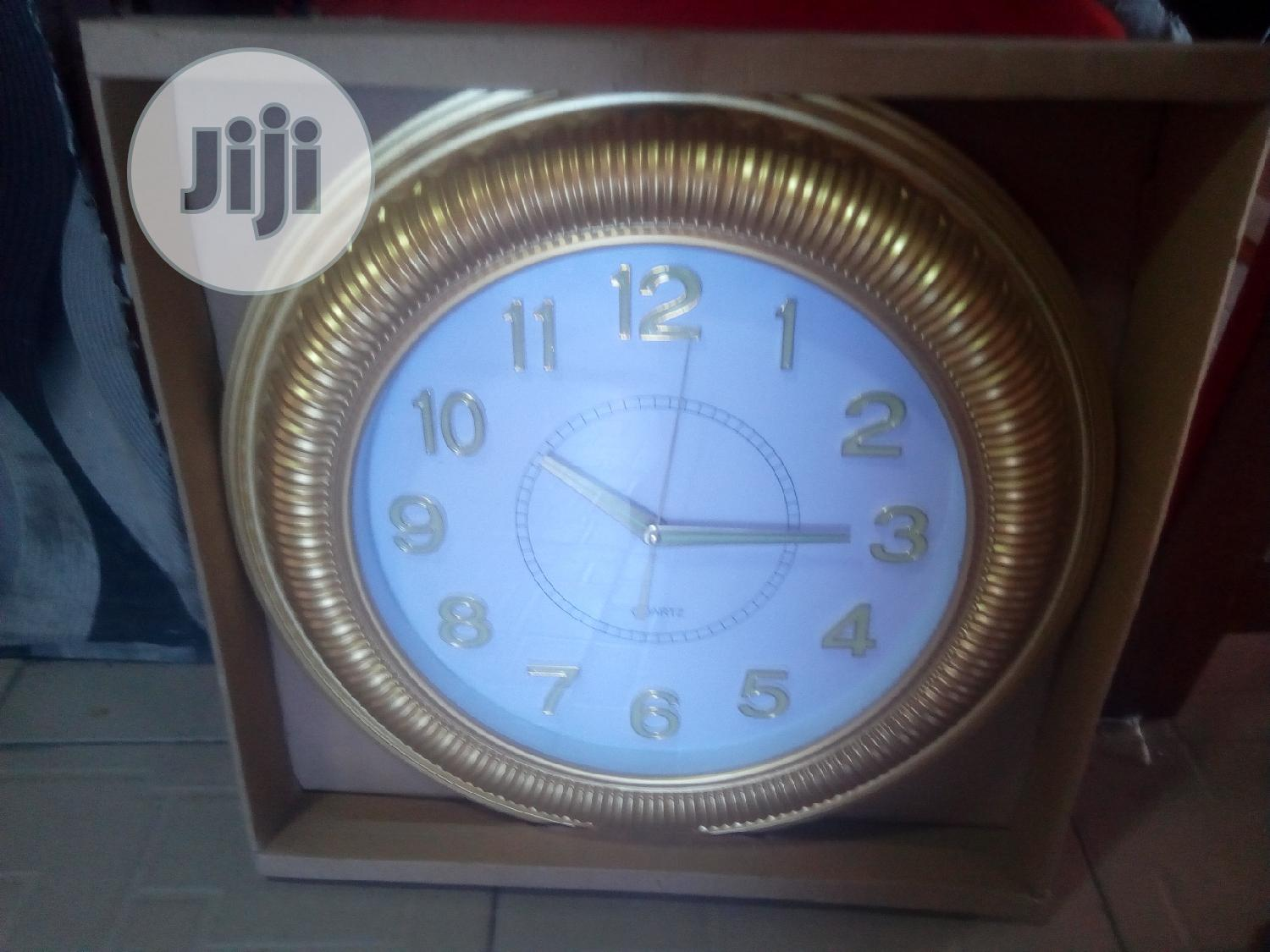 Beautiful Wall Clock | Home Accessories for sale in Ajah, Lagos State, Nigeria