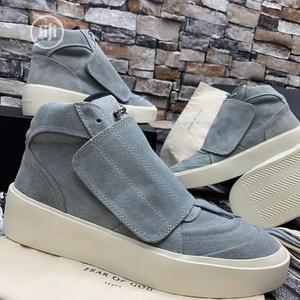 Fear of God Mid Cool Gray Sneakers
