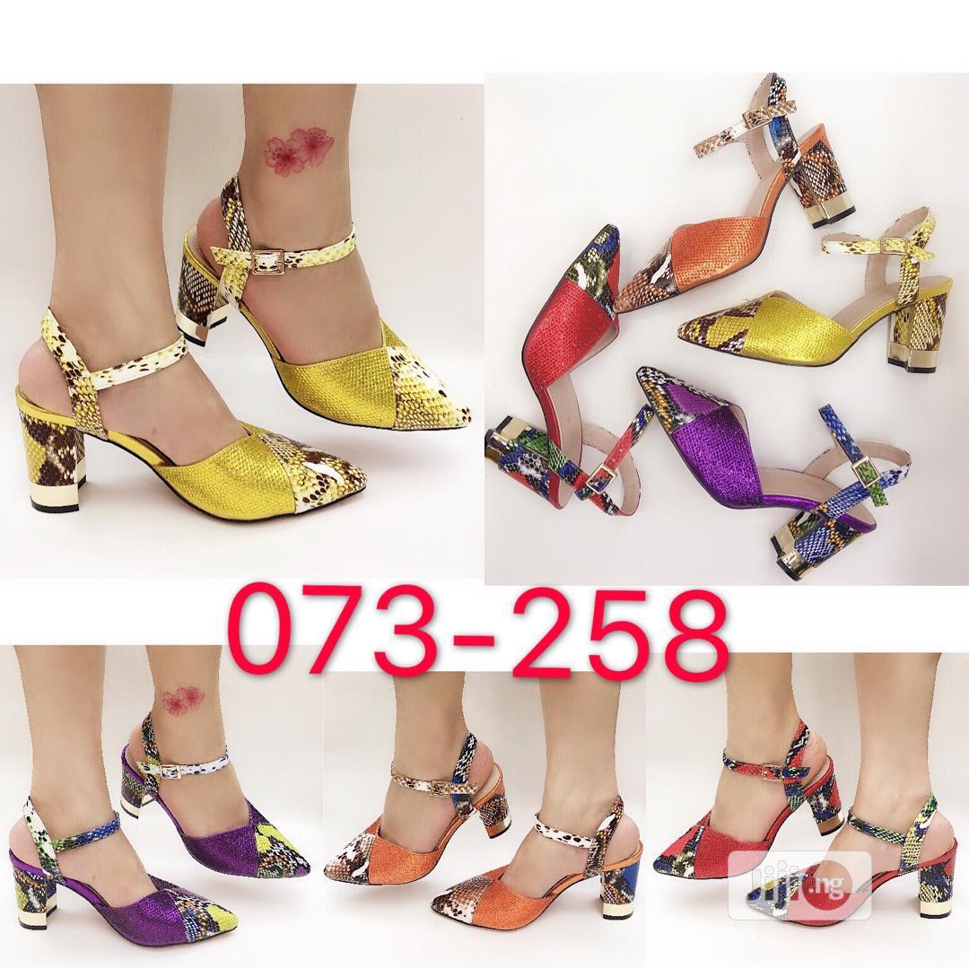 Women's Italian Shoe And Purse