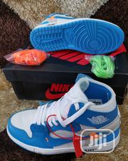 Original Nike High Top Off White Sneakers | Shoes for sale in Lagos State, Surulere