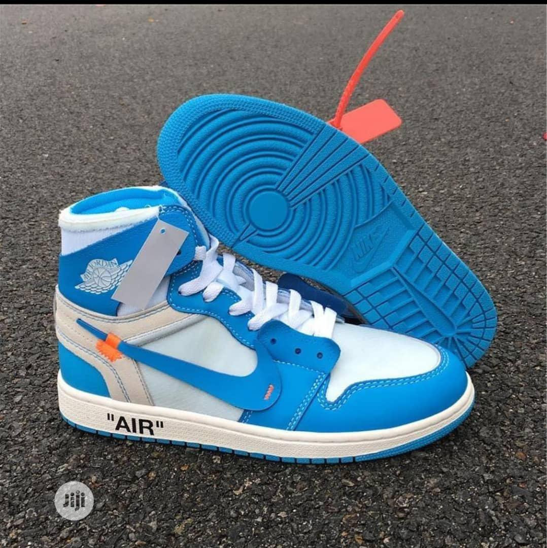 Original Nike High Top Off White Sneakers | Shoes for sale in Surulere, Lagos State, Nigeria