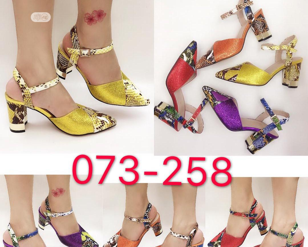 Women's Italian Shoe And Purse | Shoes for sale in Ojo, Lagos State, Nigeria