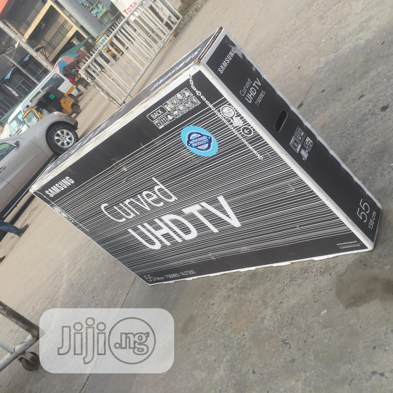 Samsung Curved Smart Television 55inches | TV & DVD Equipment for sale in Amuwo-Odofin, Lagos State, Nigeria