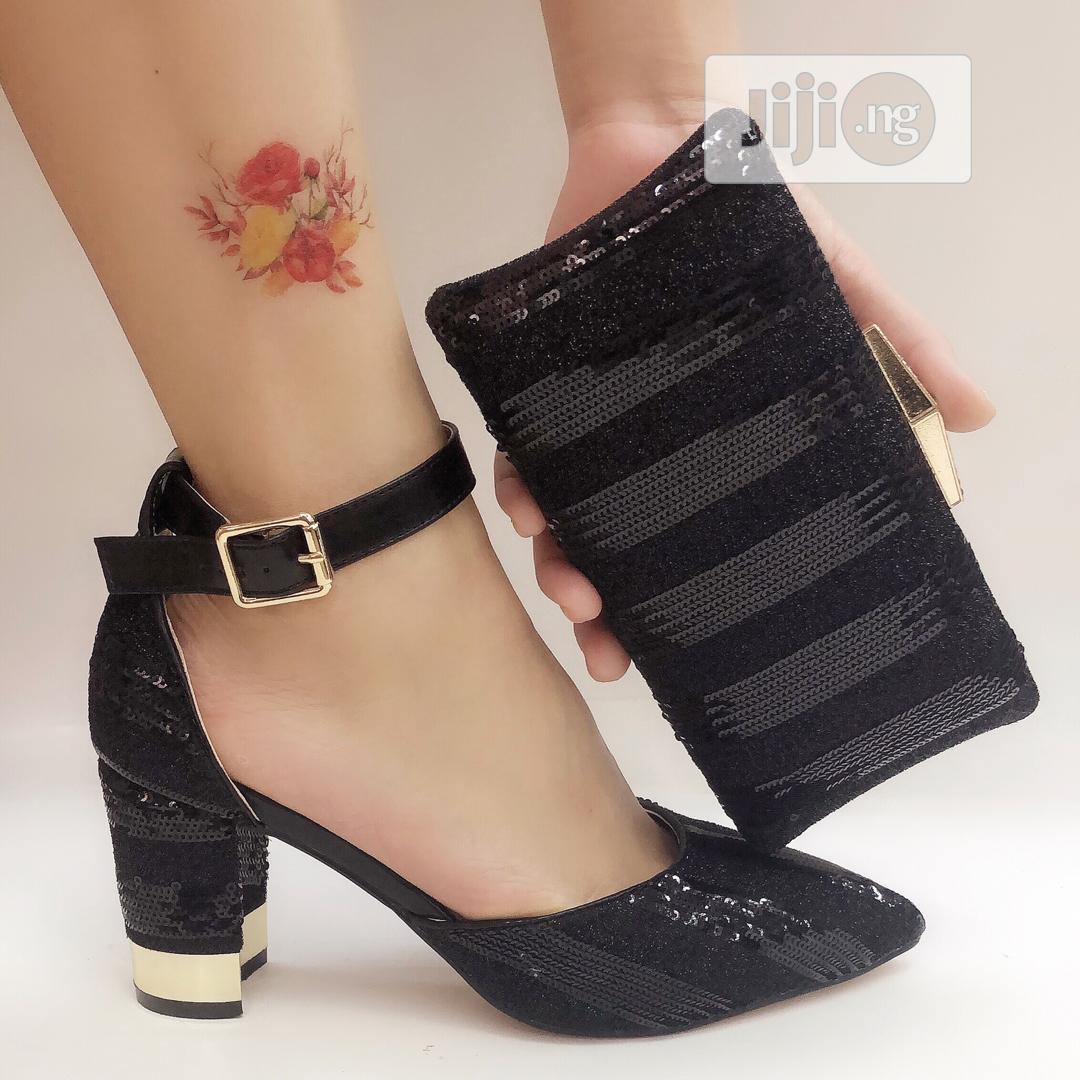 Womens Italian Shoe And Purse