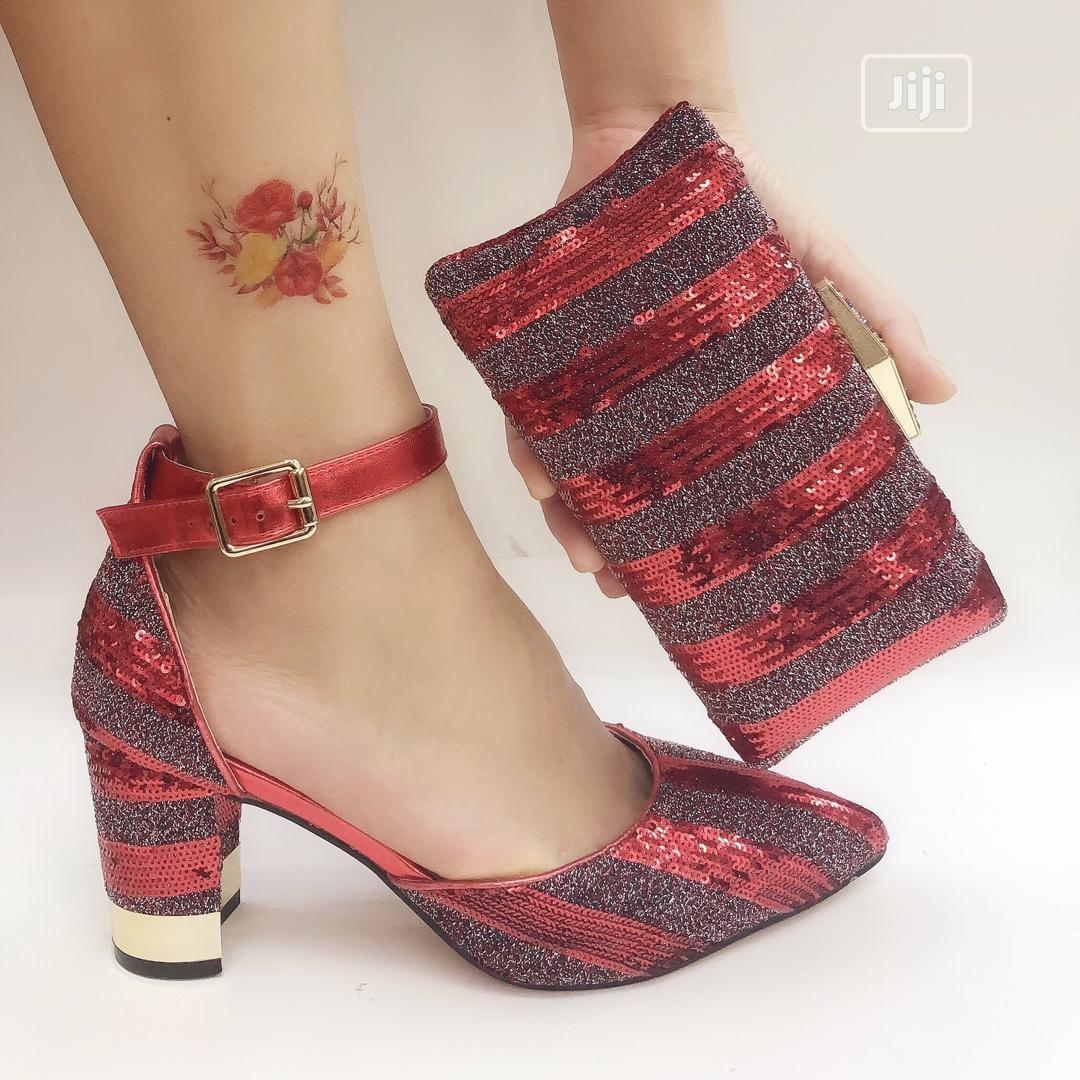 Womens Italian Shoe And Purse | Shoes for sale in Ojo, Lagos State, Nigeria