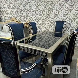 Versace Dining Table And Chair