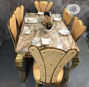 Royal Dining Table and Chair