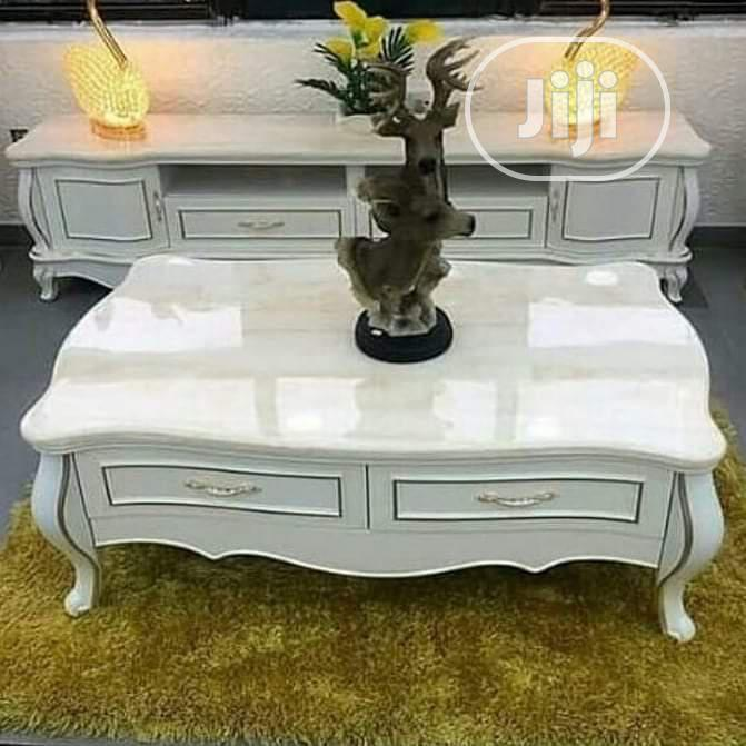 Royal TV Stand And Center Table