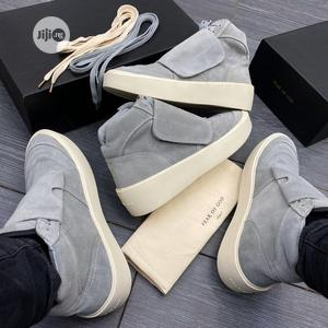 Fear of God Mid Cool Gray Milky Sneakers Available   Shoes for sale in Lagos State, Surulere