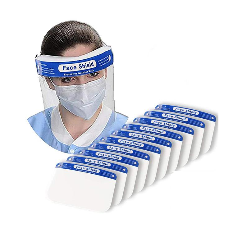 Protective Face Shield (10pieces In A Pack) | Safety Equipment for sale in Surulere, Lagos State, Nigeria