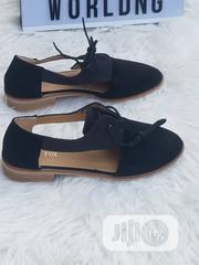 Ladies Black Loafers With Lace   Shoes for sale in Lagos State, Ajah