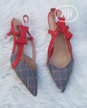Checkers Court Shoes With Bow Strap | Shoes for sale in Lagos State, Ajah