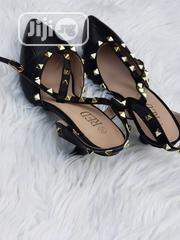 Studded Black Court Shoes for Ladies | Shoes for sale in Lagos State, Ajah