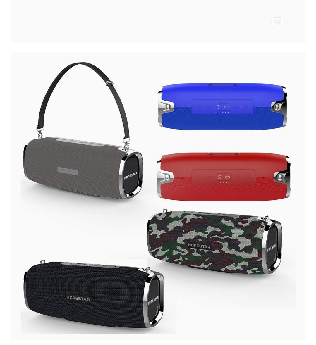 HOPESTAR A6 Wireless Portable Bluetooth Speaker | Audio & Music Equipment for sale in Ikeja, Lagos State, Nigeria