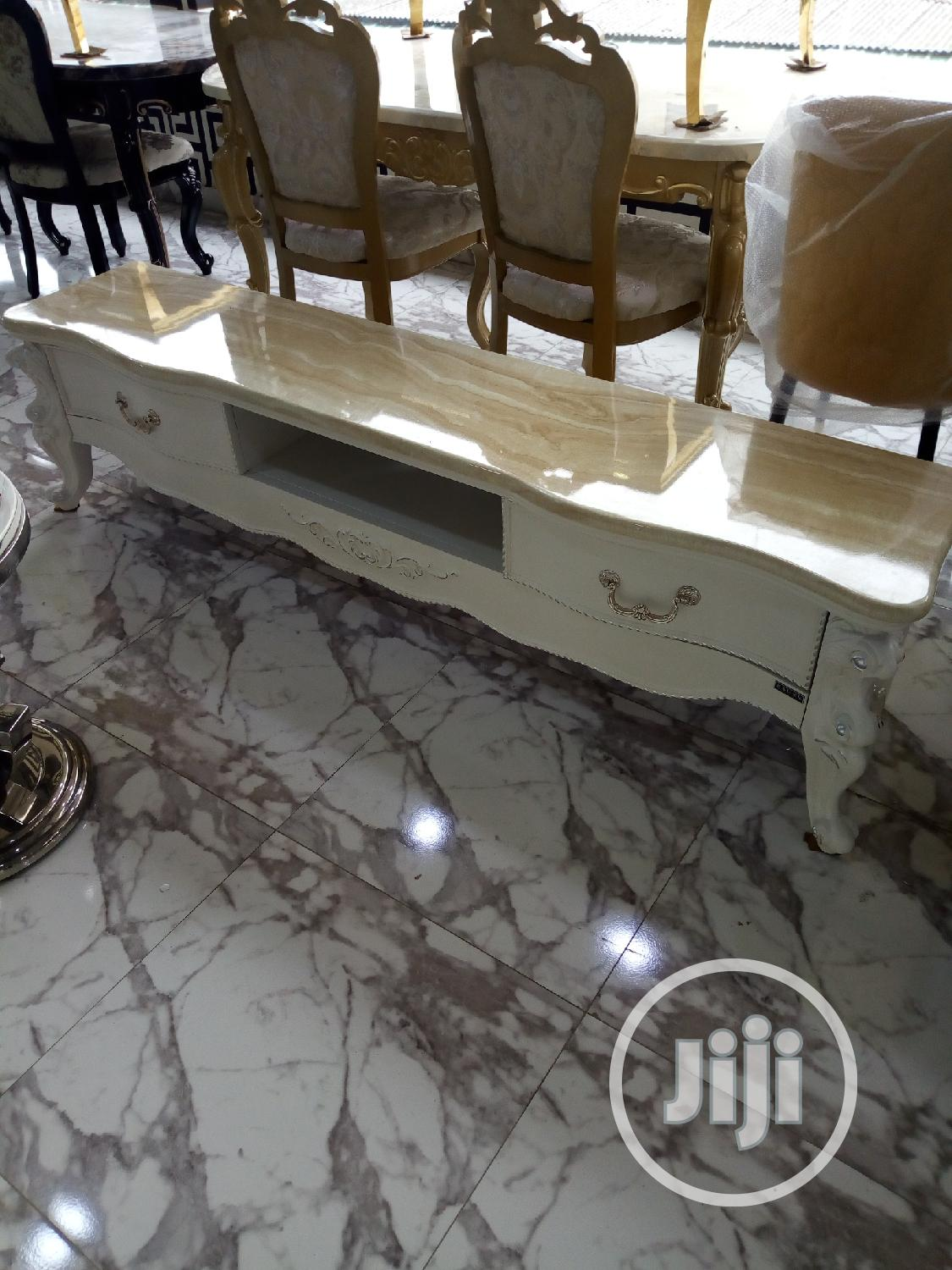 High Quality Marble Tv Stand | Furniture for sale in Ojo, Lagos State, Nigeria