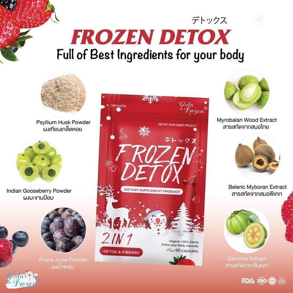Frozen Detox 2-In-1 60 Capsules