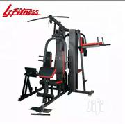 Brand New 3multi Station Gym With Sit Up and Punching Bag | Sports Equipment for sale in Lagos State, Victoria Island