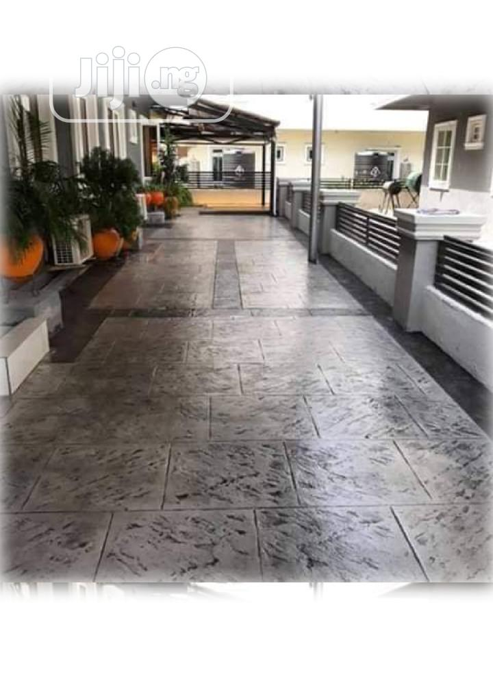 Your Stamp Concrete Design Engineer Available | Building & Trades Services for sale in Ikeja, Lagos State, Nigeria