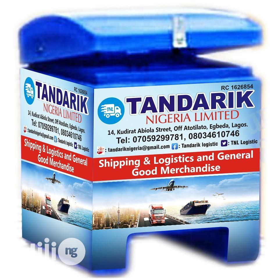 Tandarik Logistics   Logistics Services for sale in Alimosho, Lagos State, Nigeria