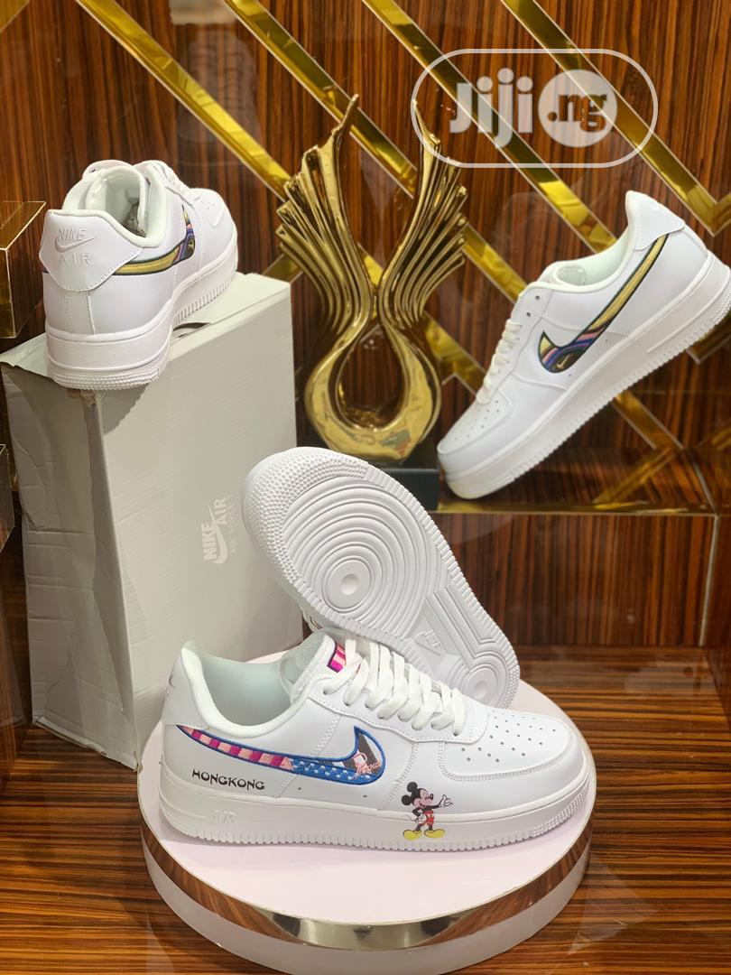 Nike Air Force1 White Sneaker | Shoes for sale in Magodo, Lagos State, Nigeria