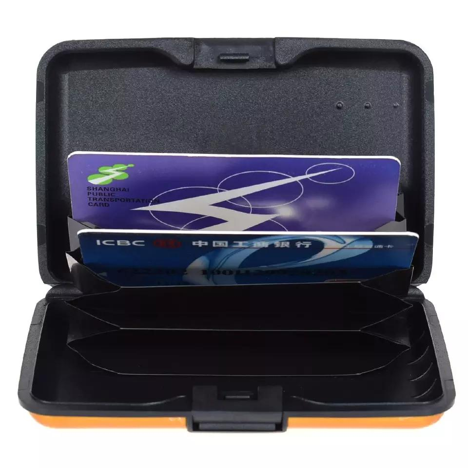 Metal Business Credit Card Pocket ID Card Holder Case Wallet Box Mini | Bags for sale in Lagos Island (Eko), Lagos State, Nigeria