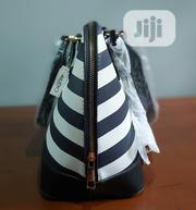 White and Blue Aldo Handbag With Long Strap. | Bags for sale in Rivers State, Port-Harcourt
