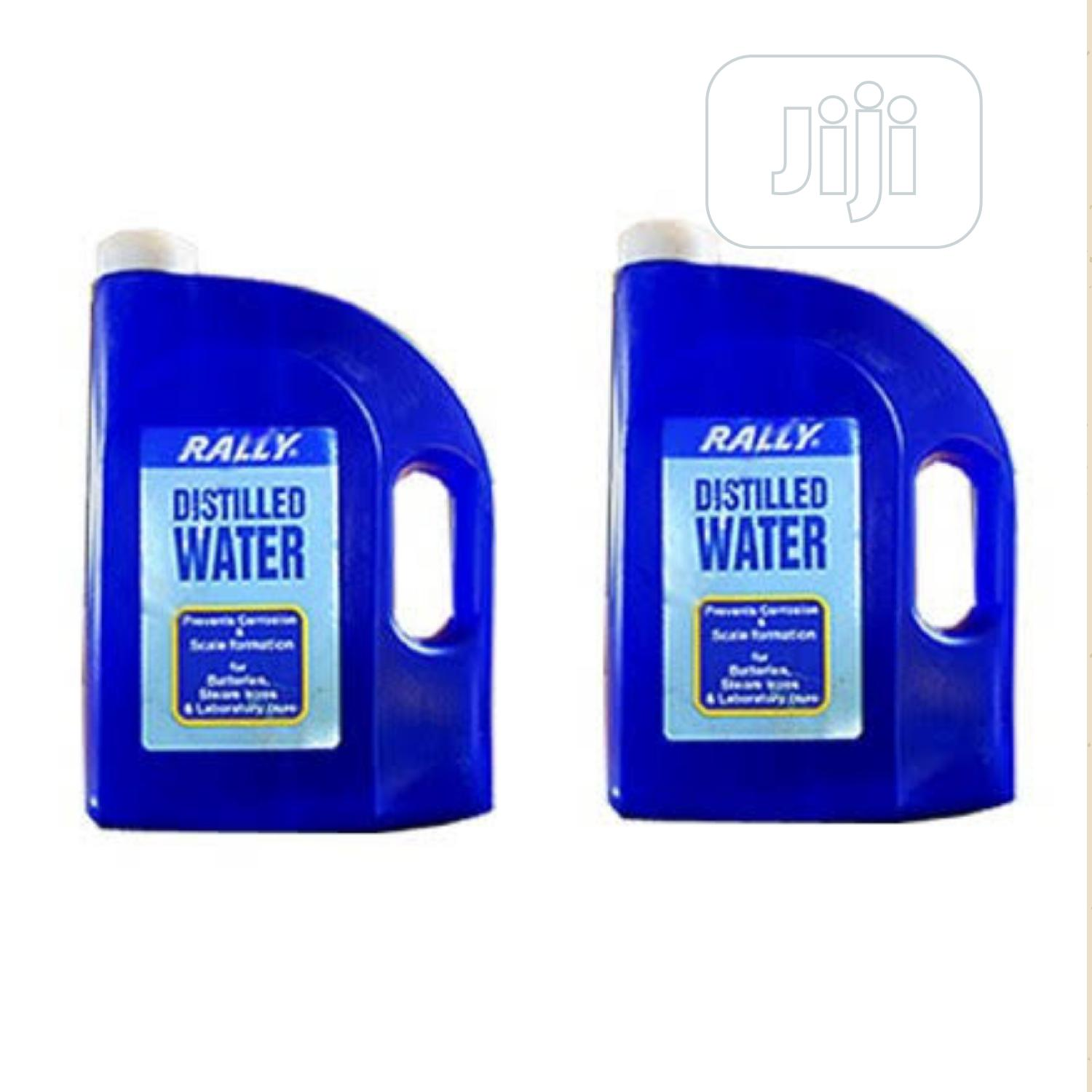Rally Distilled Water
