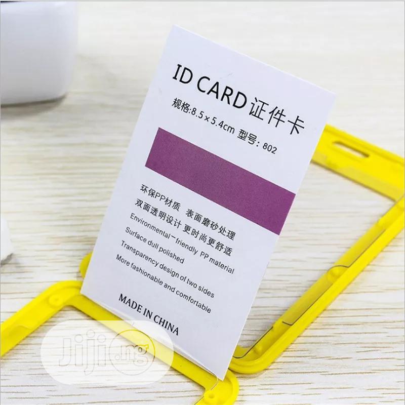 Solid Men Women Bank Credit Card Holder Wallet Bus ID Name Work Card | Bags for sale in Lagos Island (Eko), Lagos State, Nigeria