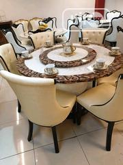 Round Dining Table With 6chairs | Furniture for sale in Lagos State, Ojo