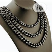 Black Cuban Necklace | Jewelry for sale in Lagos State, Amuwo-Odofin