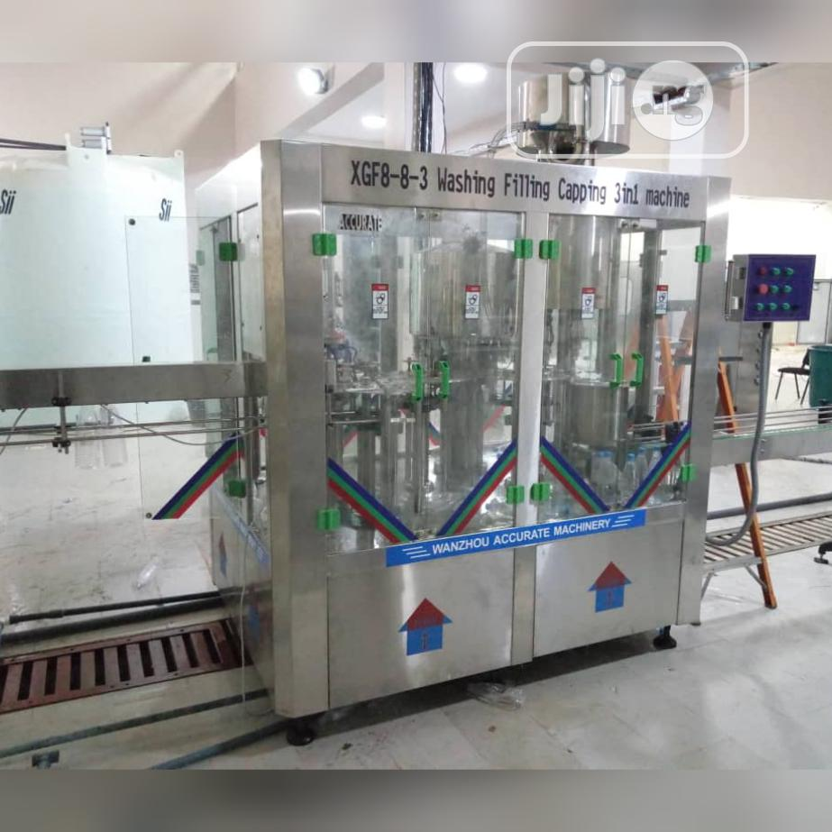 Bottle Water Packaging Machine | Manufacturing Equipment for sale in Ikeja, Lagos State, Nigeria