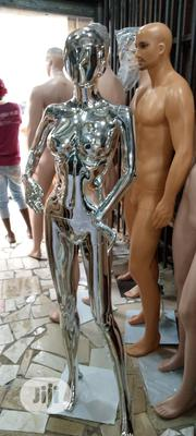 R1 Face Full Body Silver Chrome Mannequins | Store Equipment for sale in Lagos State, Isolo