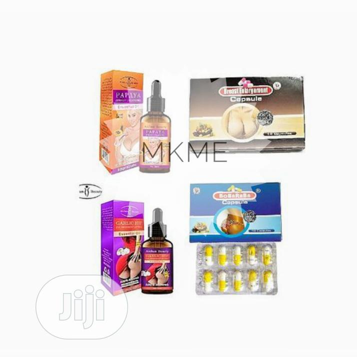 Aichun Beauty 4in1 Butt And Breast Enlargement Combo