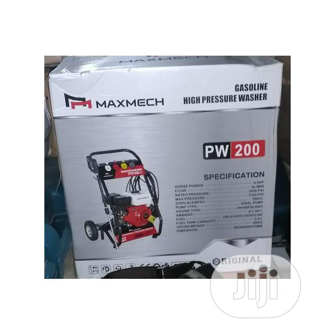 Maxmech High Pressure Car Washer Machine 6.5HP