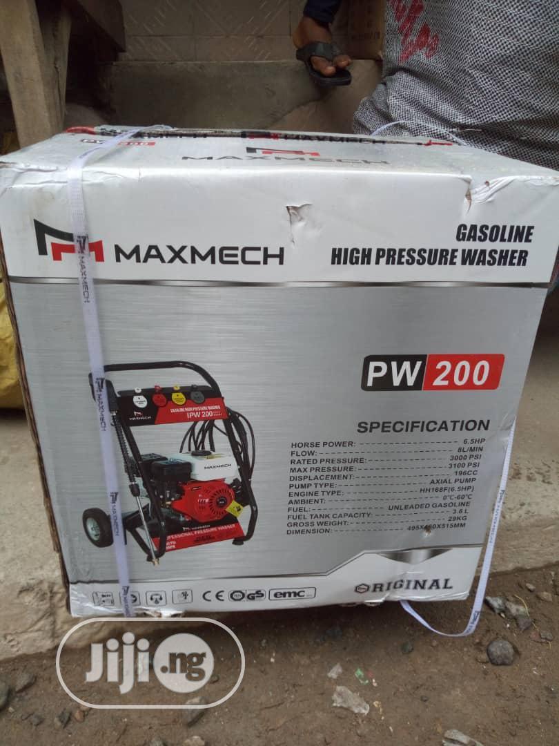 Maxmech High Pressure Car Washer Machine 6.5HP | Vehicle Parts & Accessories for sale in Lagos Island (Eko), Lagos State, Nigeria
