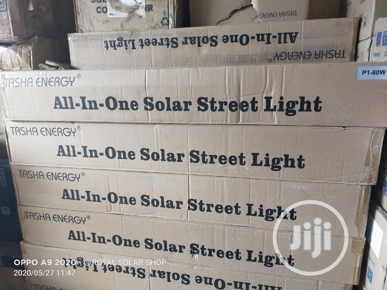 Tasha Energy 60w All-in-one Street Light | Solar Energy for sale in Ojo, Lagos State, Nigeria