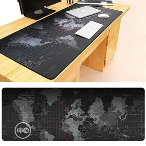 Extended Large Anti-slip World Map Pattern Soft Rubber Smooth Cloth Su | Computer Accessories  for sale in Lagos State, Ikeja